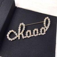 Fashion Pin Broches Broche Spilla pour Lady Femmes Party Mariage Amoureux de l'engagement des cadeaux Bijoux avec boîte
