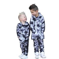 Boys Clothing Sets Baby Suits Kids Clothes Wear Autumn Winter Children Hooded Hoodie Tops Pants Trousers Sports Tracksuit 2Pcs B8253