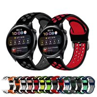 Watch Bands 22mm Silicone Band For Huawei GT 2 Pro GT2 46mm Watchband Replacement Bracelet 3 Watch3 Correa