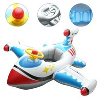 Life Vest & Buoy Inflatable Aircraft Swimming Ring Seat Floating Children Kids Safety Beach Toy
