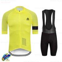 Raudax Erkekler Yaz Bisiklet Giyim Rahat Yarış Bisiklet Giyim Suit Hızlı Kuru Dağ Bisikleti Jersey Set Setleri