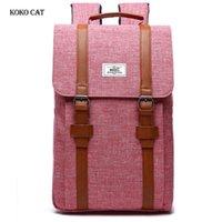 Sac à dos Koko Cat Mode Grand Capacité Ordinateur portable pour adolescents Voyage Voyage Loisirs Sacs Sacs Everand Extérieur Dayback MOCHILA