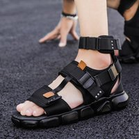 on leather sandal roman geta s plage homme de shoes sandalia homens big comfort sandles gladiator shoe men dress mens masculina