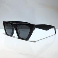 Óculos de sol para homens e mulheres verão gato estilo anti-ultravioleta 41468 placa de lente retro quadrado quadro completo moda óculos aleatório caixa