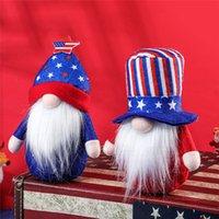 4. von Juli Party Dekorative Gnome Patriotische USA Independence Veteran Day Zwerg Schreibtisch Top Home Büro Dekoration Kinder Geschenk