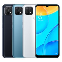Original Oppo A35 4G Mobile Phone 4GB RAM 64GB 128GB ROM Helio P35 Octa Core Android 6.52 inches Full Screen 13MP AI 4230mAh Face ID Fingerprint Smart Cell Phone