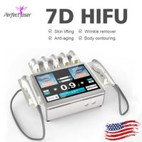 2021 hifu face lifting machine high frequency remove fine lines non-invasive ultrasound device HIFU7D