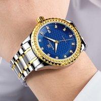 Мужская мода Wathces из нержавеющей стали Мужчины бизнес-часов Автоматические современные наручные часы