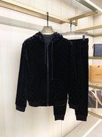 20ss Diseñador de chándals de diseño para hombres Luxury Sweat Suits otoño marca hombre jogger trajes Chaqueta + Pantalones Sets Sporting Traje Hip Hop Sets Alta Calidad