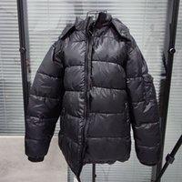 Mens ricamo cappotti giacca uomo parka unisex ricamo donne geometriche in cotone top vestiti caldi vestiti invernali con cappuccio vestiti ingranditi giacca