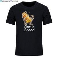 Erkekler T-Shirt Ur Anne Com N Maek Hte Sarımsak Ekmek Erkek T Shirt Grafik Bağbozumu Tops Tees Trendy Erkek Retro Gömlek Tops