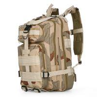 New 30l Hunting Mochila Molle 3P Tactical Military Saco Camo Exército Swat Mochila Homem Caminhada Travel Mochilas Ao Ar Livre Assalto Pacote