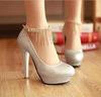 2019 Women Ladies 12cm Bridal High Heels Shoes Wedding Bridesmaid Waterproof Shoes Party Shoe Size 34 -39 Free Ship Silver Z40 E