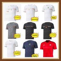2021 2022 Швейцария Футбол Джерси Барилла Sensi 21 22 Австрия Чешская Республика Ренессанс Chiellini Бернардешек Футбольные рубашки