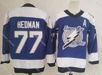 2021 Tampa Bahy Lightning Hockey Jerseys Mens Victor Hedman Jersey Andrei Vasilevskiy Nikita Kucherov Brayden Point Steven Stamkos Yanni Gourde Costura Camisetas