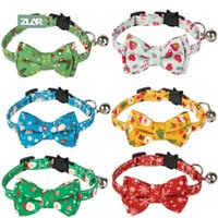 Cat Collars & Leads ZLAR Christmas Cats Accessories Pet Collar Puppy Merry Festival Pets Product