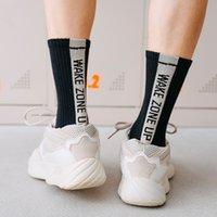 Socks men's basketball socks lovers hip hop fashion letter skateboarding