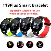 119Plus Smart Band Heart Rate Sleep Tracker Wristbands Incom...