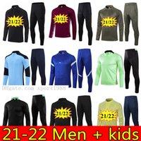 21 22 Манчестер тренировочный костюм мужские дети боевые убийцы Rashford выжившие футбольный трексуируют 2021 Pogba B.fernandes United Soccer куртка