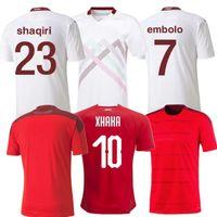 2021 Кубок Европы Кубка футбола 20 21 Bale Allen Shaqiri Швейцария CamiSeta de Fútbol Embolo Seferovic Rodriguez Футбол Джерси S-4XL