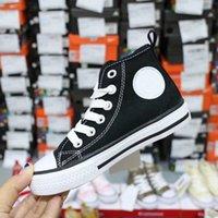 CDG  PLAY Converse shoes  2021 Sneakers di moda per bambini di marca Ultime scarpe high-top per ragazzi e ragazze Taglie sportive 22-35