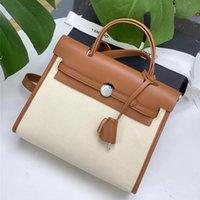 designers Yiherme road hand women's fashion simple real leather bag temperament Canvas Shoulder Bag handbag wan