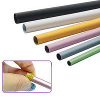 Nail Art Kitleri 6 adet / takım C Eğrisi Çubuk İpuçları Şekillendirme Sopa Tüp Bar UV Akrilik Manikür Aracı Farklı Sizenail Araçları