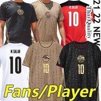 2021 2022 Südfußball-Jerseys Fans Spielerversion Afrika National Football Team 21/22 Ägypten M.salah # 10 Ghana Mohamed Tunesien Zuhause Dritter Männer Hemden Thai