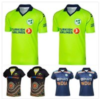 2021 الكريكيت القمصان قمصان الركبي جيرسي أيرلندا الهند أستراليا الماوري زي زيلندا قميص