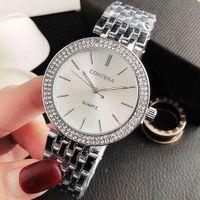 الساعات الفاخرة للرجال والنساء مصمم العلامة التجارية ساعات E En Diamant et Cristal Pour Femmes، Tiremt Acier، La Mode، Nouvelle Collection