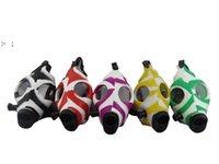 Räucherrohre Kreative Tarnung Color Schädel Silikonmaske Acryl Wassermasken Großhandel OWD10187