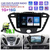 "9 ""Android 10.1 سيارة مشغل الوسائط المتعددة للعبور 2013-18 DVD راديو ستيريو واي فاي GPS الملاحة رئيس وحدة 2 الدين الملحقات"