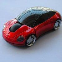 المحمولة اللاسلكية الفأرة 2.4 جيجا هرتز usb سيارة شكل زر البسيطة led الفئران الألعاب البصرية للكمبيوتر المحمول الكمبيوتر متعدد الألوان