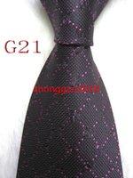 Hombres Classic Silk Tie Mens Business Button Skinny Grooms Necktie para camisa de traje de fiesta de boda con vínculos informales
