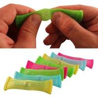 Máscaras de fiesta rompecabezas divertido juguetes juguetes de tejido de la red de administración de red Cinturón de alta calidad mármoles de alta calidad de descompresión juguete simple color sólido para niños