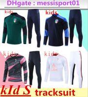 AC Piatek Ibrahimovic Soccer Trainingsanzug Suringement 2021 Italien MAILLT de Foot Mailand Fußball Kinder Traininganzug