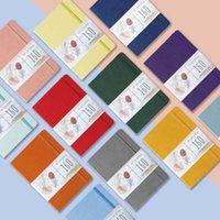 Notepads Buke Dot Cuaderno Cuaderno Punteado Drucite Dibujo Dibujo Sketchbook-160GSM Papel, Bolsillo interior, Página numerada P1- P160