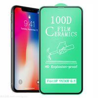 Soft Ceramic TPU Screen Protector for iPhone 12 pro max 11 xs xr 7 8 plus full cover plastic nano pet protector Clear Ceramic Film Anti scratch
