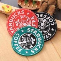 Silicone Coasters Coupe Thermo Coussin Porte-Coussin Decoration Starbucks Coasters Coasters Coupe Tapis CS25