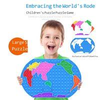 30 cm Büyük Boy Dünya Haritası Kabarcık Poppers Kurulu Parmak Yapboz Fidge Sensory Oyuncaklar Slicone Punch Pop Kabarcıklar Mega Jumbo Parmak Eğlenceli Oyun Masaüstü Stres Giderici G575G6W
