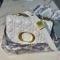 Über Crossbody Bag Frauen Luxurys Designer-Designer Taschen 2021 CD-Handtasche Handtaschen Nachahmung Marken Klassische Mode Original Mini-Kette Handtasche Großhandel