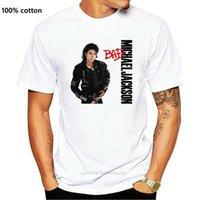 メンズTシャツマイケルジャクソンバートホワイトTシャツ