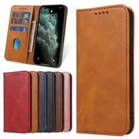 Leather Flip Cases For iPhone 13 Pro Max 12 11 Xs Xr X 7 Plus 8 Samsung A72 A52 A32 A22 A12 A03s Magnetic Wallet Card Phone Case