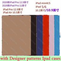 Per iPad Pro 2020 Gen 11 Custodia tablet di alta qualità per iPad Air10.5 AIR1 2 Mini45 IPAD10.2 IPAD56 Designer di lusso PU Copertura della carta in pelle PU Pocket TPU