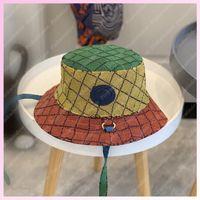 2021 Güneş Şapka Moda Kova Şapka Kadın Erkek Şapka Luxurys Tasarımcılar Kapaklar Şapka Erkek Bonnet Beanie Cappelli Firmati Yaz Şapka Cap Trucker Gösteri 2105183L
