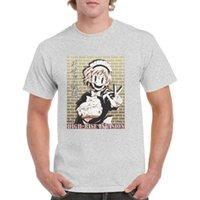 かわいいメイドマスクTシャツユニセックスヒップホップTシャツアニメ高層侵入グラフィックトップ100%コットンスナイパー服女性/男メンズTシャツ