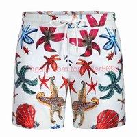2021 Männer Bademode Shorts Verfärbungen Strandhosen Schnelltrocknende Badehose Multicolor