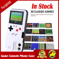Silicone Phone Case Mini Video Game Player Handheld Game Console 36 Games for Iphone 6 7 8 Plus 11 Pro Max XS Max Protector Cover