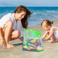 Storage Bags Beach Mesh Bag Children Sand Away Protable Kids Toys Clothes Toy Sundries Organizers Cosmetic Makeup