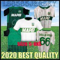 20 21 Sassuolo Fussball Jerseys 100. Hundertjähriger Berardi Boga Locatelli 2020 2021 Zuhause Maglietta Calcio TRAORE Football Shirts Thailand